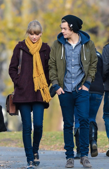 taylor-swift + harry-styles