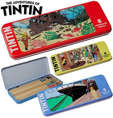 Tintin-8-Piece-Pencil-Set-