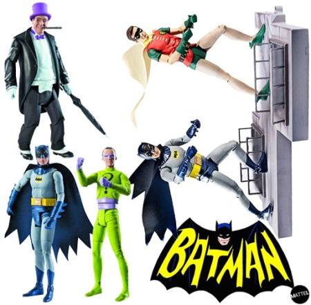 Action-Figures-Batman-Classic-TV-Mattel