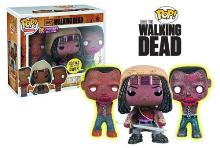 Michonne-e-Glow-In-Dark-Pet-Zombies-Pop