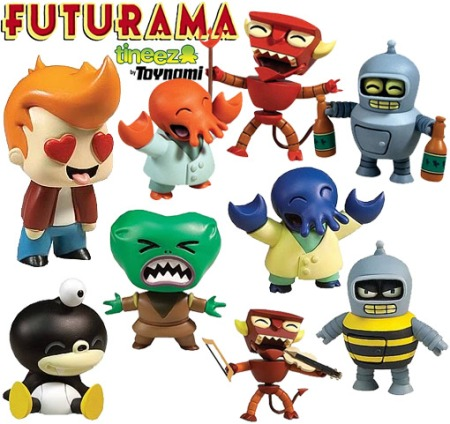 Futurama-Tineez-Stylized-Mini-Figures