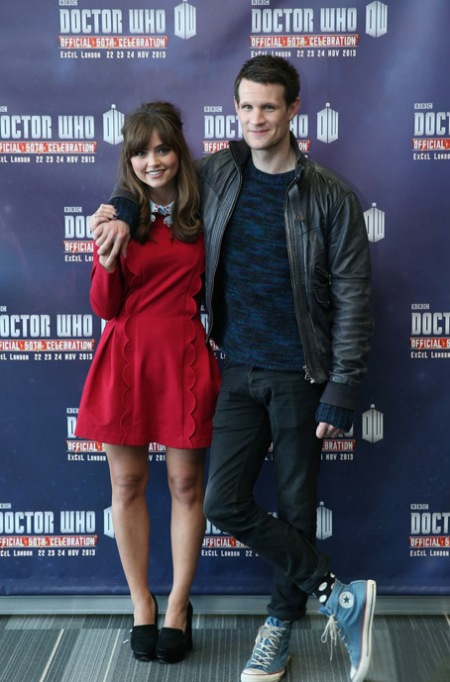 matt-smith-jenna-coleman-doctor-who-50t