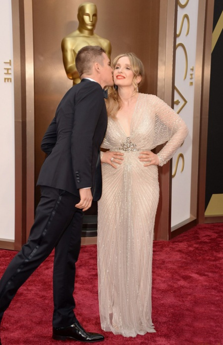 Ethan Hawke(L) and Julie Delpy